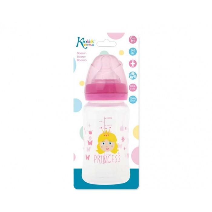Biberón Princesa 240ml Kiokids  Accesorios bebé - La Cesta Mágica