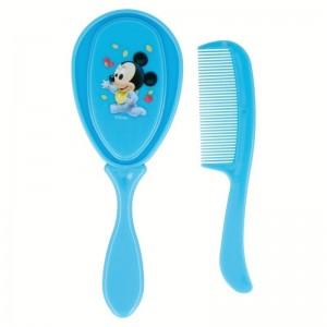 Set Cepillo y Peine Mickey Disney  Accesorios bebé - La Cesta Mágica