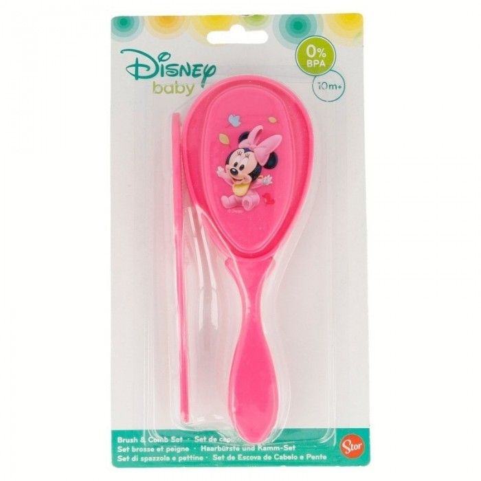 Set Cepillo y Peine Minnie Disney
