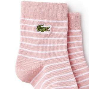 Pack de 3 pares de calcetines niña LACOSTE  Ropa Bebé - La Cesta Mágica