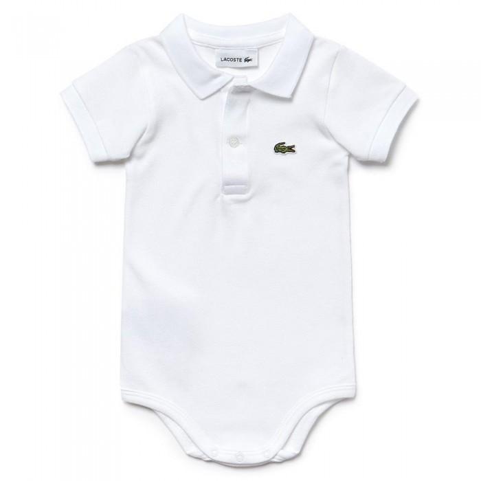 Body para bebé con cuello LACOSTE