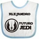 Babero Jedi para bebé