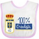 Babero Real Oviedo para bebé