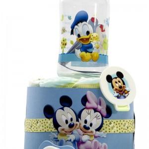 Tarta de Pañales Disney Azul  Tartas de Pañales - La Cesta Mágica