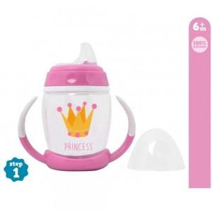 Taza Aprendizaje Princesa Kiokids  Alimentacion y Lactancia - La Cesta Mágica