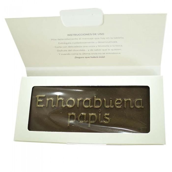 Chocolate Enhorabuena Papis  Otros Regalos - La Cesta Mágica