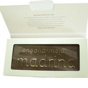 Chocolate Madrina eres la Mejor  Otros Regalos - La Cesta Mágica