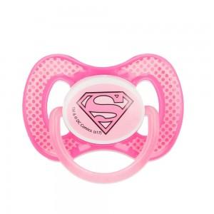 Chupete Super Girl DC Comic  Alimentacion y Lactancia - La Cesta Mágica