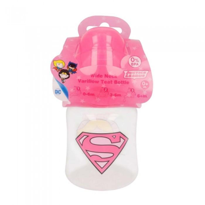 Biberón Super Girl DC Comic  Accesorios bebé - La Cesta Mágica