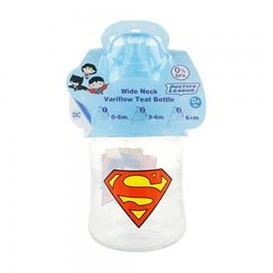 Biberón Super Man DC Comic  Accesorios bebé - La Cesta Mágica