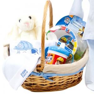 Cesta Patrulla Canina Azul  Canastillas para bebes - La Cesta Mágica