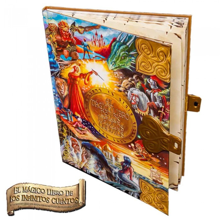 El Magico Libro de los Infinitos Cuentos Edicion Fantasia  Otros Regalos - La Cesta Mágica