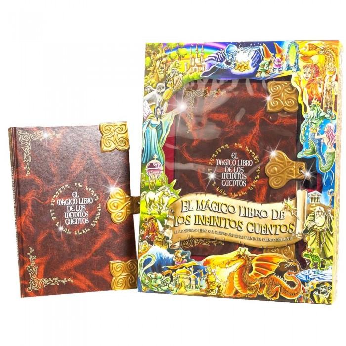 El Magico Libro de los Infinitos Cuentos Edicion Lujo  Otros Regalos - La Cesta Mágica
