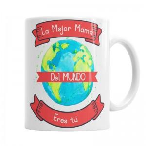 Taza Para la Mejor Mamá del Mundo  Tazas Originales - La Cesta Mágica