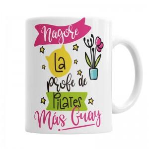 Taza Profe de Pilates Guay  Tazas - La Cesta Mágica