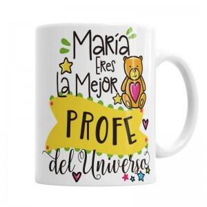 Taza Profe Osito Mimoso  Tazas Originales - La Cesta Mágica