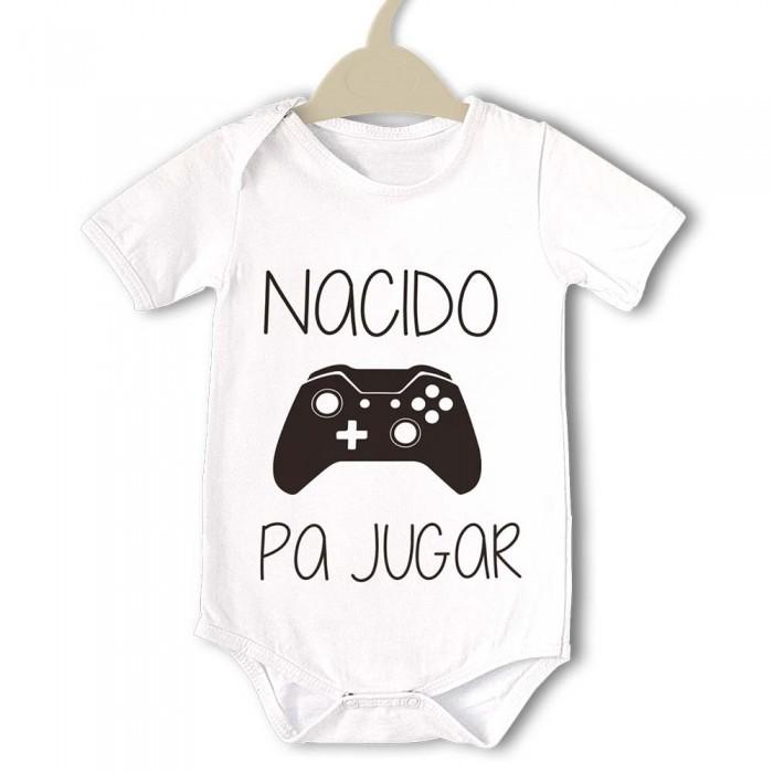 Body original para Bebé, Nacido pa Jugar  bodys - La Cesta Mágica