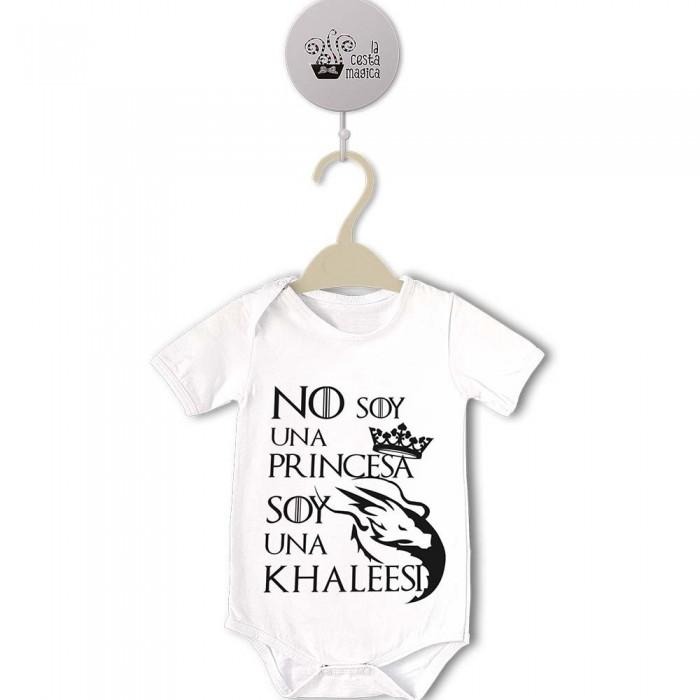 Body original para Bebé, Soy una Khaleesi  bodys - La Cesta Mágica