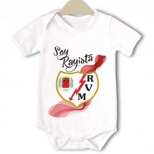 Body original para Bebé, Rayo Vallecano  Bodys Originales - La Cesta Mágica