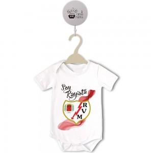 Body para Bebé, Rayo Vallecano  bodys - La Cesta Mágica