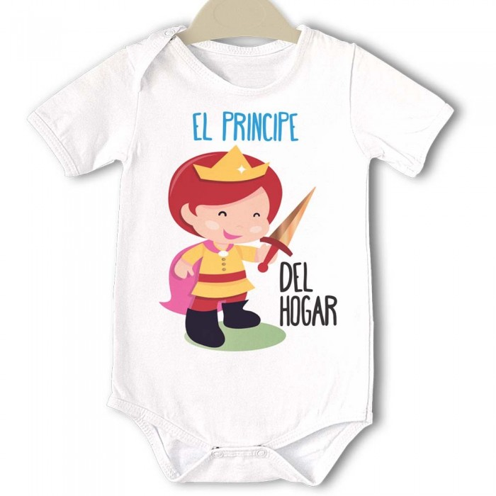 Body Original Baby Principe del Hogar  bodys - La Cesta Mágica