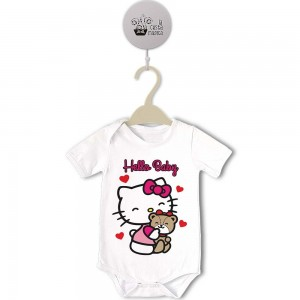 Body Original Hello Kitty - Baby  Bodys Originales - La Cesta Mágica