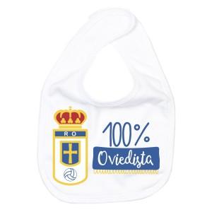 Babero Real Oviedo para bebé  baberos - La Cesta Mágica