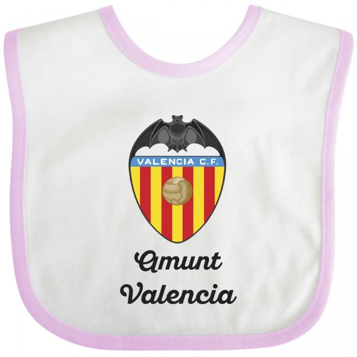 Babero Valencia para bebé-rosa  Accesorios bebé - La Cesta Mágica