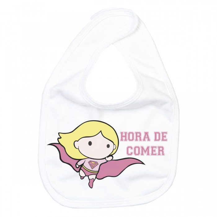 Babero Super Girl  Accesorios bebé - La Cesta Mágica