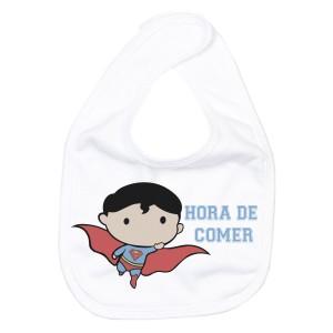 Babero Super Man  baberos - La Cesta Mágica