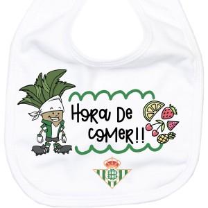 Babero Real Betis Balompié  Accesorios bebé - La Cesta Mágica