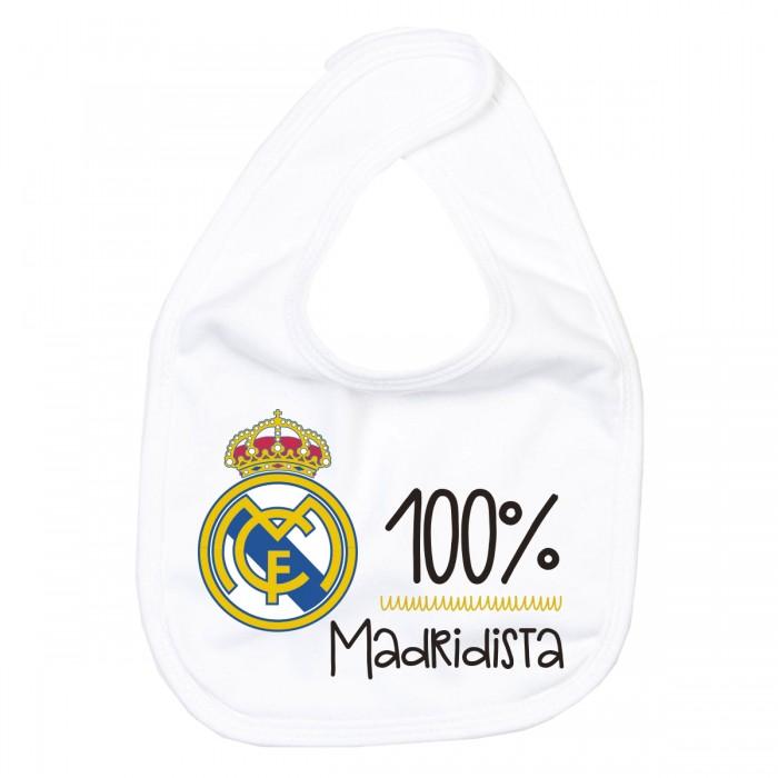 Babero Real Madrid 100%  Accesorios bebé - La Cesta Mágica