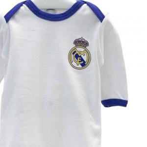 Pack 2 Bodys Manga Larga niño Real Madrid  Ropa Bebé - La Cesta Mágica