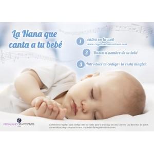 Nana Personalizada de Bebe  Otros Regalos - La Cesta Mágica