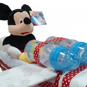 Tarta de Pañales Avión Mickey  Tartas de Pañales - La Cesta Mágica