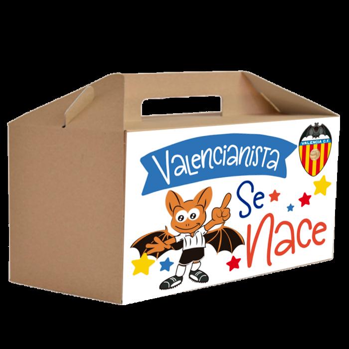 Caja Regalo Bebe Valencia C.F  Canastillas para bebes - La Cesta Mágica