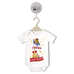 Caja Regalo Bebe Real Sociedad  Canastillas para bebes - La Cesta Mágica