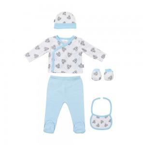 Canastilla para bebé Mickey Mimitos Invierno  Canastillas para bebes - La Cesta Mágica