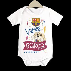 Body para Bebe FC Barcelona  bodys - La Cesta Mágica