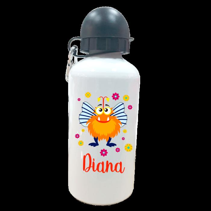 Botella Personalizada Bichito  Botellas aluminio - La Cesta Mágica