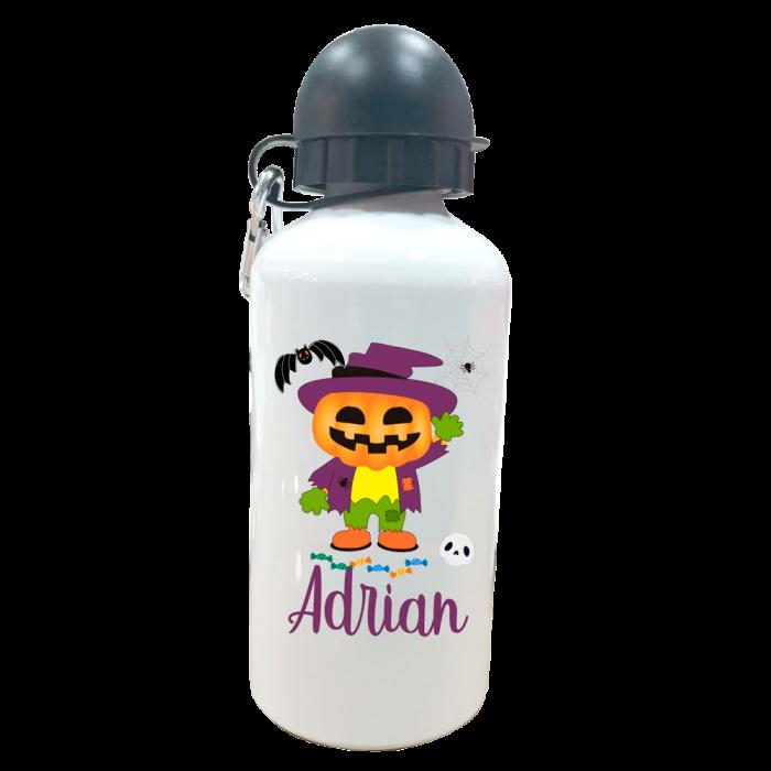 Botella Personalizada Calabaza  Botellas aluminio - La Cesta Mágica