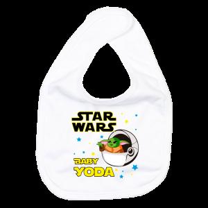 Babero bebé Yoda  baberos - La Cesta Mágica