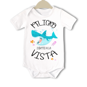 Body original para Bebé, Peligro Dientes a la Vista  bodys - La Cesta Mágica