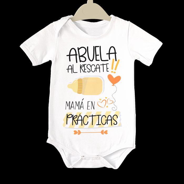Body original para Bebé, Abuela al Rescate  bodys - La Cesta Mágica
