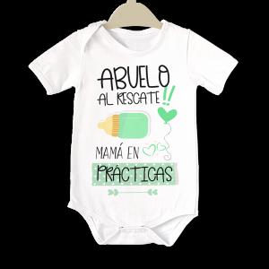 Body original para Bebé, Abuelo al Rescate  bodys - La Cesta Mágica