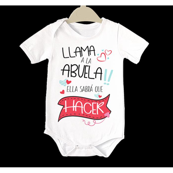 Body original para Bebé, Llama a la Abuela!!  bodys - La Cesta Mágica