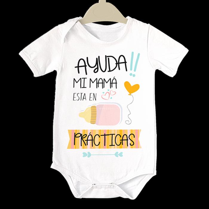 Body original para Bebé, AYUDA!! Mi Mamá  bodys - La Cesta Mágica