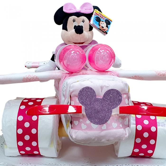 Tarta de Pañales Avión Minnie  Tartas de Pañales - La Cesta Mágica