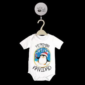 Body original para Bebé,Mi Primera Navidad Pinguino  bodys - La Cesta Mágica