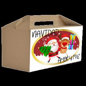 Caja Regalo Bebe Mi Primera Navidad  Canastillas para bebes - La Cesta Mágica